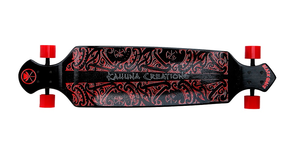 Kahuna Drop deck black wave (Black)